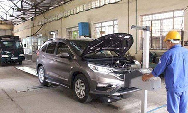 Gần 4.000 ôtô bị chặn đăng kiểm do không nộp phạt giao thông
