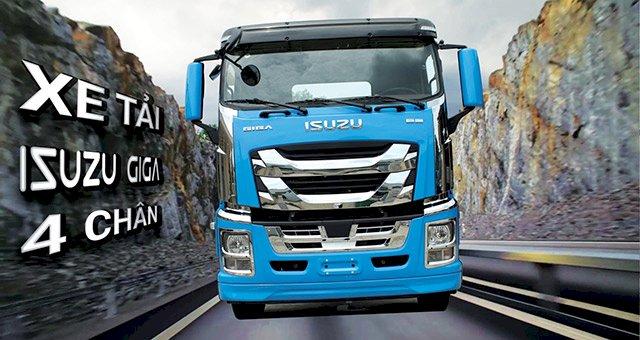 Xe tải Isuzu Giga 4 chân nhập khẩu 100%