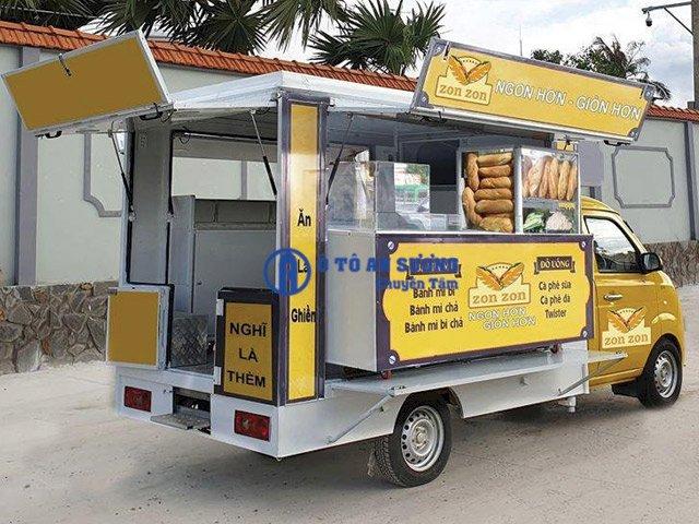 Xe tải bán hàng lưu động bán thức ăn nhanh