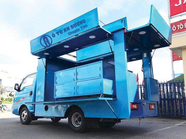 Xe tải bán hàng lưu động Jac X5