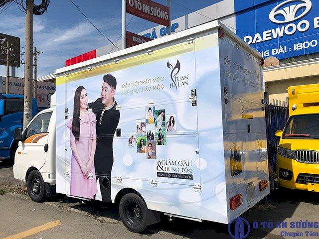 xe tải bán hàng lưu động quảng bá thương hiệu