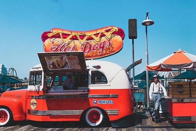 Xe tải bán hàng lưu động bán ở nước Mỹ