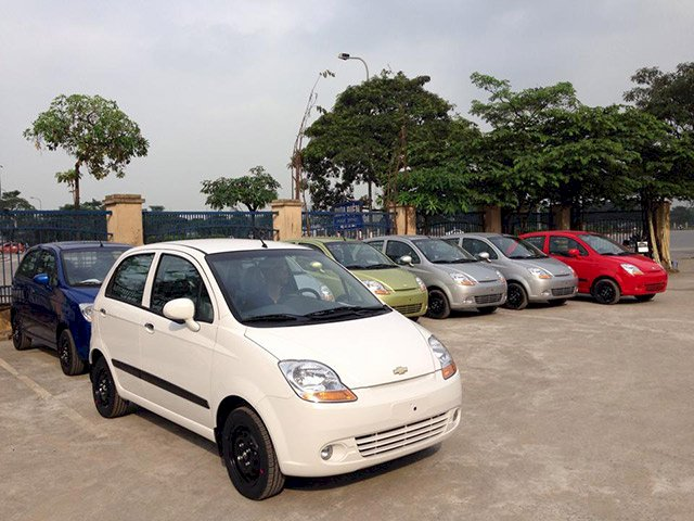 Chevrolet Spark Van 2014
