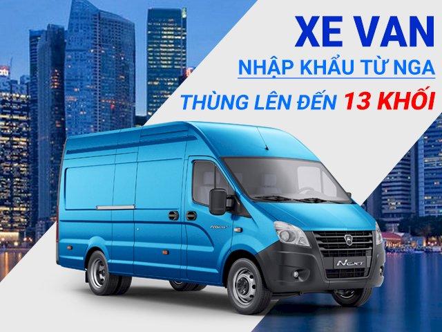 xe tải van Gaz 3 chỗ thùng 14 khối