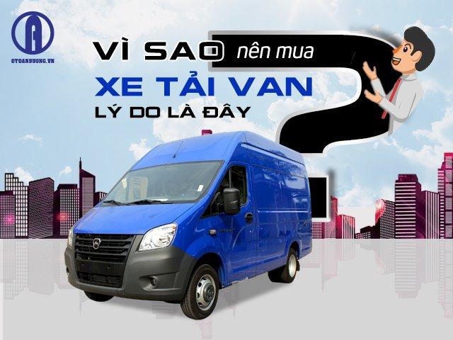 Vì sao nên mua xe tải van – lý do là đây