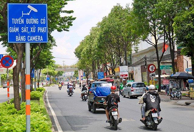 TP HCM xây dựng hệ thống 'phạt nguội' ở 30 tuyến đường