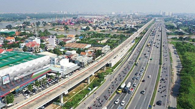 Giới hạn khu vực nội đô – khu vực xa lộ hà nội tại tphcm