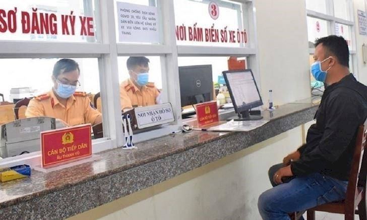 Phòng Cảnh sát giao thông, Công an tỉnh thông báo tiếp nhận hồ sơ đăng ký xe