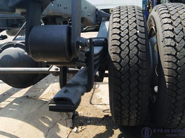 Hệ thống treo sau xe tải Gaz 1t8