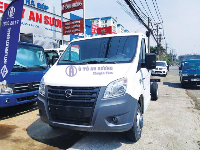 Xe tải Gaz 1t8 thhùng 4m2 nhập khẩu
