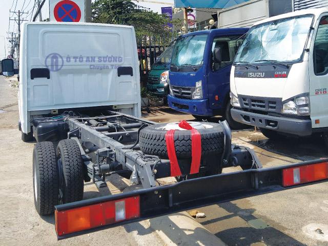Khung gầm xe tải Gaz 1t8